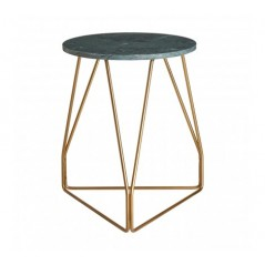 Corra Side Table Green