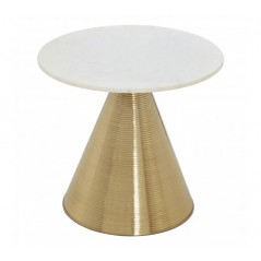 Martini End Table Gold