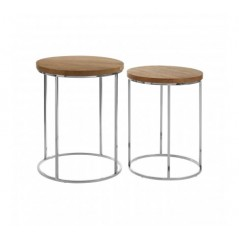 Agra End Table Natural