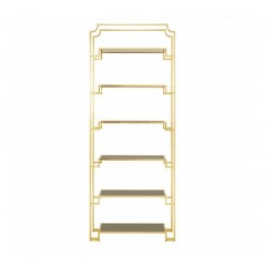 Horizon Bookshelf Elevated Gold