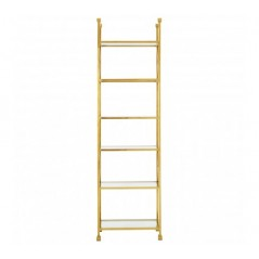 Horizon Bookshelf Cross Gold