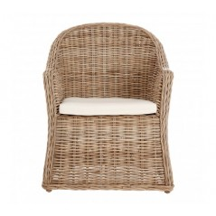 Lovina Tub Chair Brown