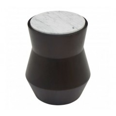 Lino Side Table Drum Small Black
