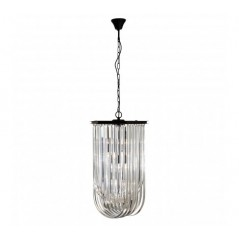 Davis Pendant Light Long Black