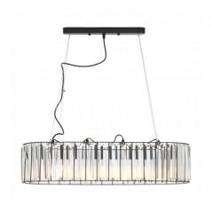 Akiko 4 Bulb Pendant Light Clear
