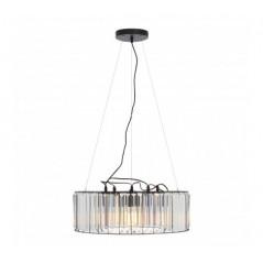 Akiko 5 Bulb Pendant Light Clear