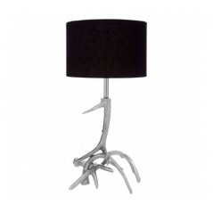 Antler Table Lamp Silver