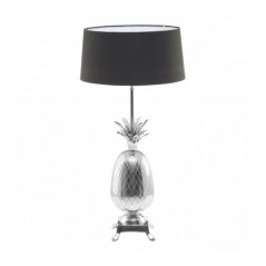 Boho Table Lamp Silver