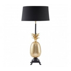 Boho Table Lamp Black