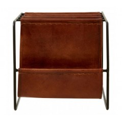 Barnes Magazine Holder Dark Brown