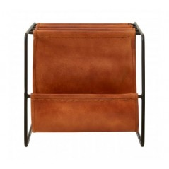 Barnes Magazine Holder Light Brown