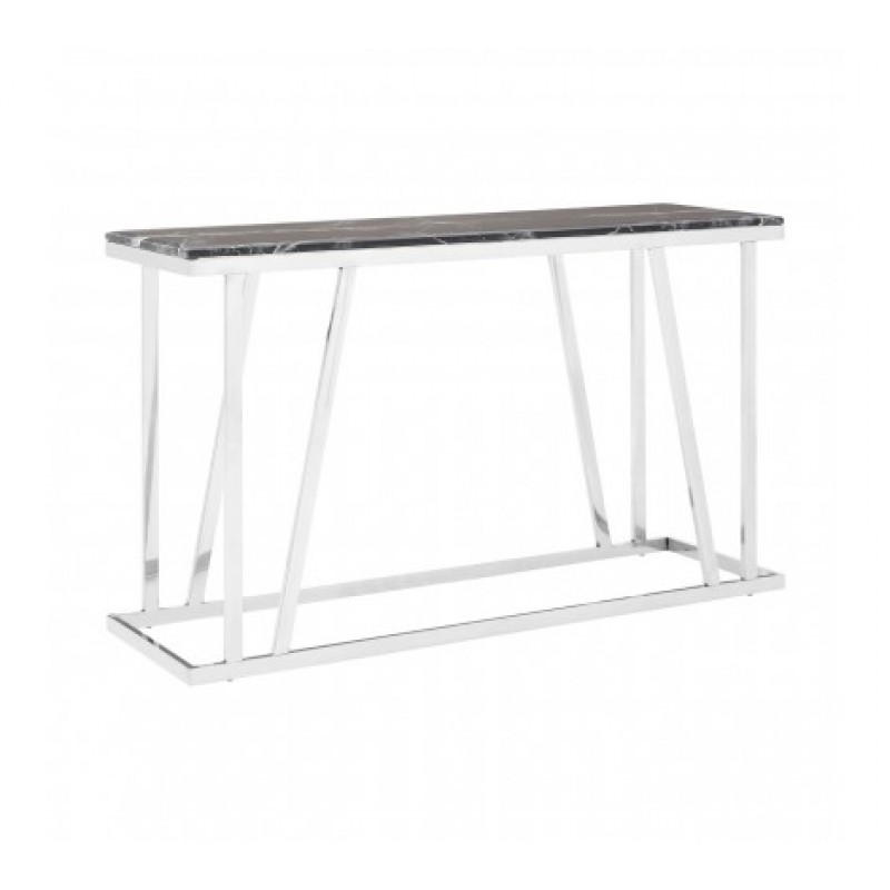 Ackley Console Table Black
