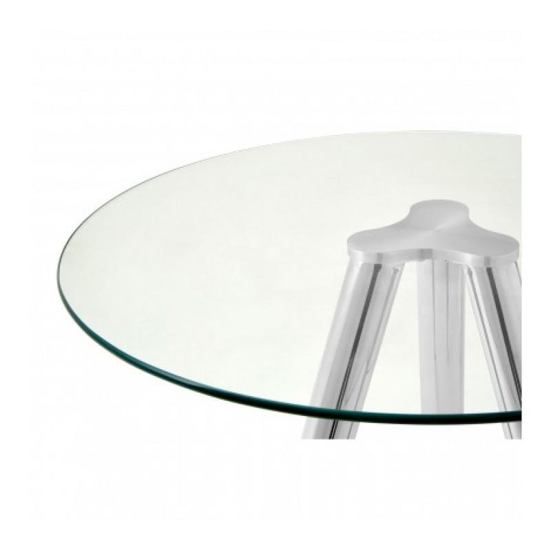 Barton Bar Table Silver