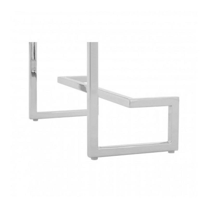 Allure Console Table Cubic Rectangular Silver