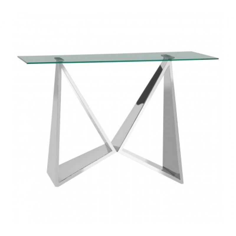 Allure Console Table Wing Silver