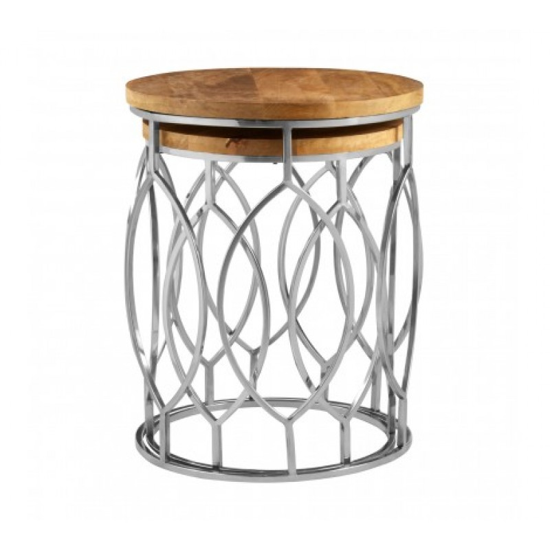 Agra Side Table Natural