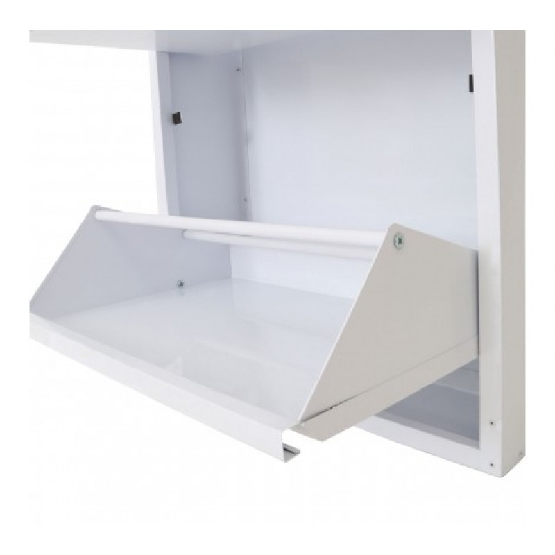 Smith Shoe Cabinet White