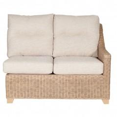 PL Natural Wash Michigan Right Arm Sofa Excl Cushion