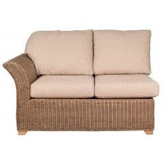 PL Natural Wash Wisconsin Left Arm Sofa Frame Only