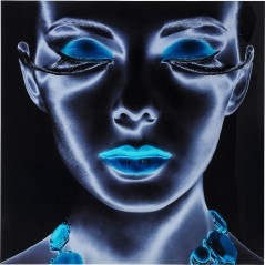 Picture Glass Diva 120x120cm