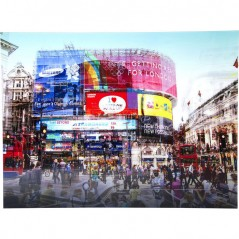 Picture Glass Piccadilly Circus 120x160cm