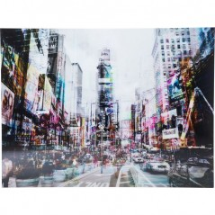 Picture Glass Times Square Move 120x160cm