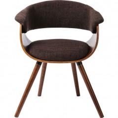 Monaco Schoko Retro Chair