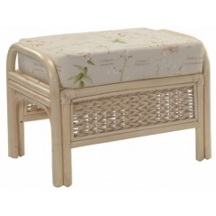 DE Rosdniw Footstool + Cushion