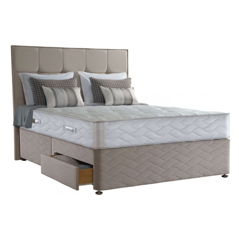 Sealy 3ft Pearl Elite 2 Drawer Bed