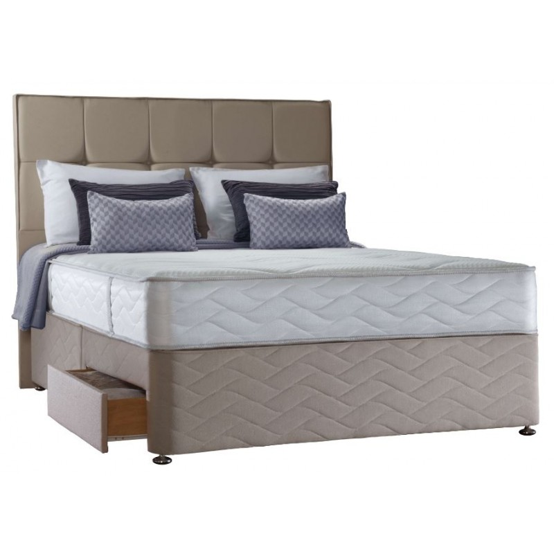 Sealy 3ft Pearl Memory 2 Drawer Bed