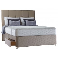 Sealy 4ft Pearl Memory 4 Drawer Bed