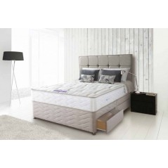Sealy 4ft6 Pearl Firm 2 Drawer Bed