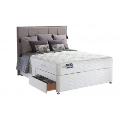 Sealy 4ft6 Pearl Latex 2 Drawer Bed