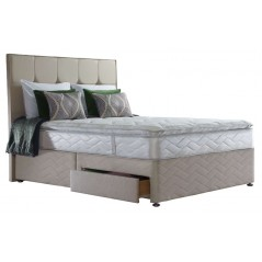 Sealy 4ft6 Pearl Luxury 2 Drawer Bed