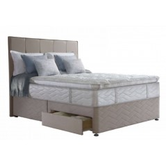 Sealy 6ft Guernsey 4 Drawer Zip & Link Bed