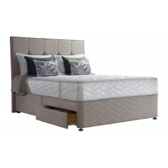 Sealy 6ft New Jubilee Latex 4 Drawer Zip & Link Bed