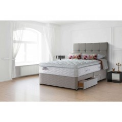 Sealy 6ft Pearl Luxury 4 Drawer Zip & Link Bed
