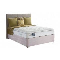 Sealy 6ft Pearl Luxury Zip & Link Bed