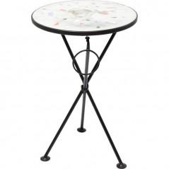 Side Table Clack Mosaic Multi Stone Ø36cm
