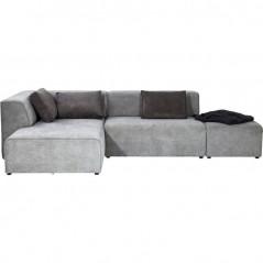 Sofa Infinity Ottomane Grey Left