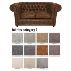 Sofa Oxford 2-Seater Individual Fabric 1
