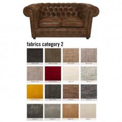 Sofa Oxford 2-Seater Individual Fabric 2
