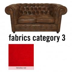 Sofa Oxford 2-Seater Individual Fabric 3