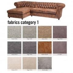 Sofa Oxford 3 Left Individual Fabric 1