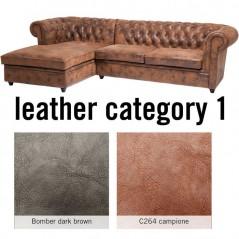 Sofa Oxford 3 Left Individual Leather 1