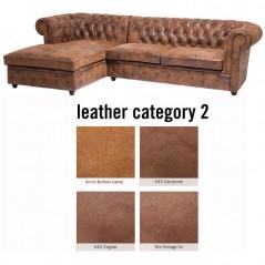 Sofa Oxford 3 Left Individual Leather 2
