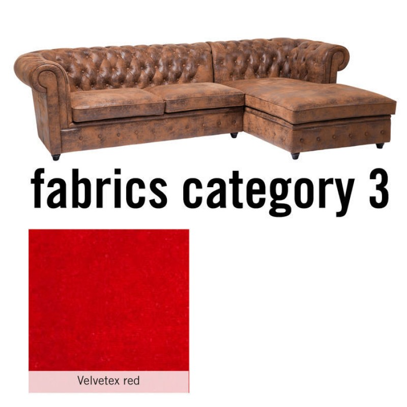 Sofa Oxford 3 Right Individual Fabric 3