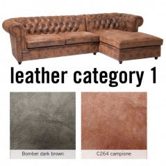 Sofa Oxford 3 Right Individual Leather 1
