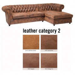 Sofa Oxford 3 Right Individual Leather 2