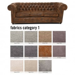 Sofa Oxford 3-Seater Individual Fabric 1